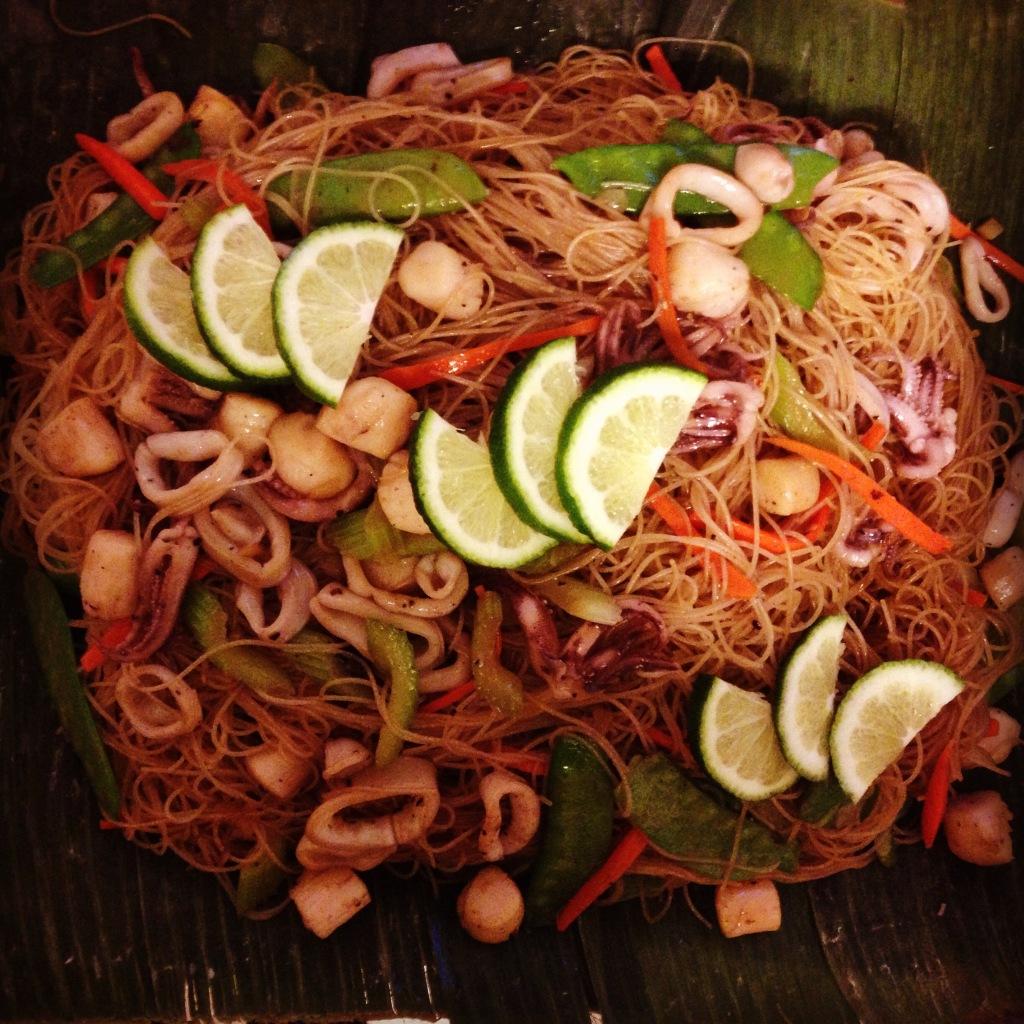 Seafood Pancit Bihon